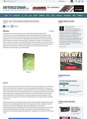 Amazona.de Test: Mu Technologies MuVoice