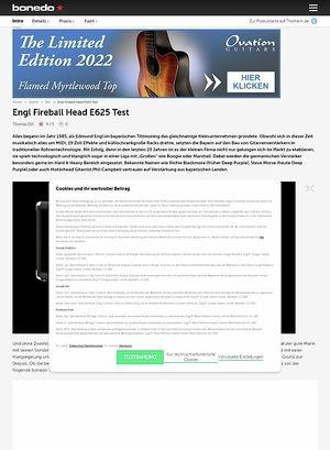 Bonedo.de Engl Fireball Head