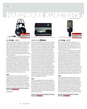 Beat Hardware Kurztests