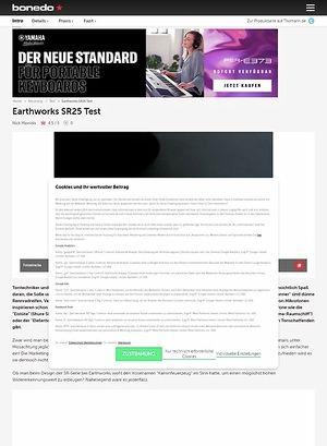 Bonedo.de Earthworks SR25