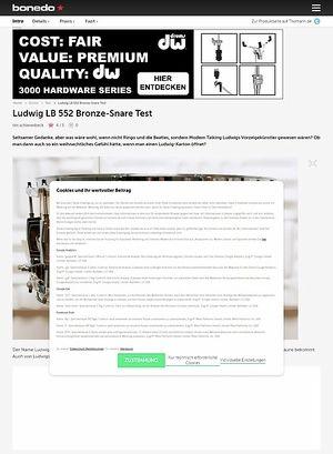 Bonedo.de Ludwig LB 552