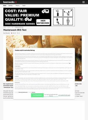 Bonedo.de Masterwork Iris