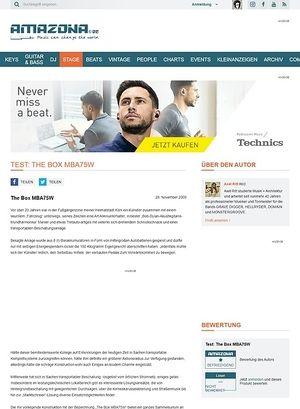 Amazona.de Test: The Box MBA75W
