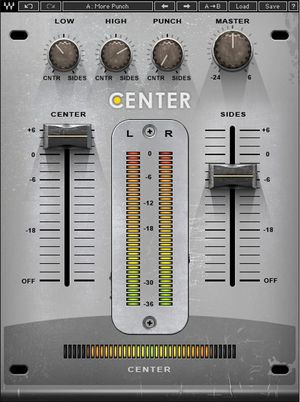 Waves Center - Stereoprozessor-Plug-in