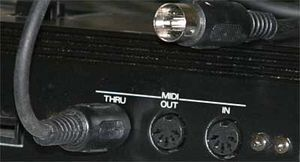 MIDI Schnittstelle