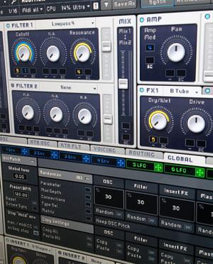 Instrumentos por Software