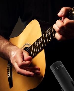 la Grabación de Guitarras Acústicas