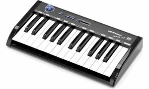 Teclados controladores MIDI (até 25 teclas)