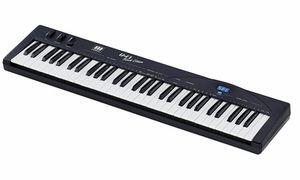 Teclados controladores MIDI (até 61 teclas)