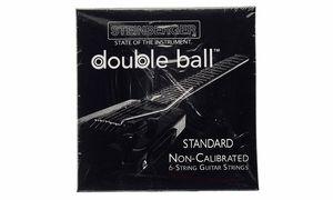Dubbel ball end strängar