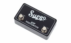 Footswitches for Guitar Amplifiers