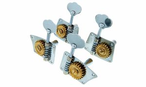 Tuning machines for double basses