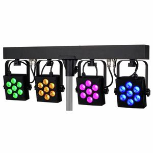 CLB4 RGB Compact LED Bar 4 Stairville