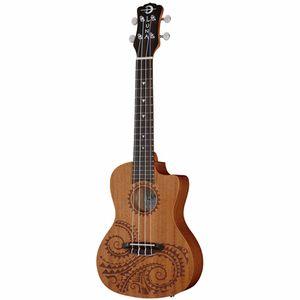 Ukulele Concert Tattoo PU Luna Guitars