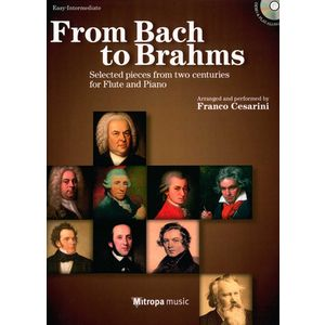 From Bach To Brahms Flute Mitropa Music