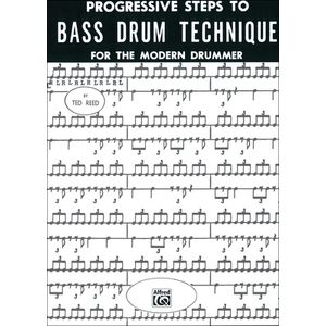 Bass Drum Technique Alfred Music Publishing