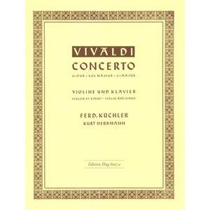 Vivaldi Concert G-Dur Violin Edition Hug