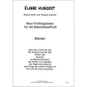 Frühlingslieder Piano Goldbach Verlag