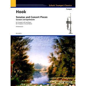 Hook Sonatas And Concert Piece Schott