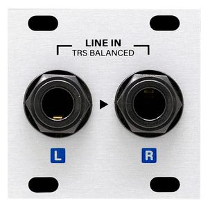 Stereo Line In Jacks 1U Intellijel Designs