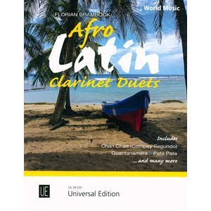 Afro Latin Clarinet Duets Universal Edition