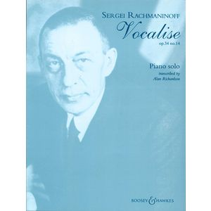 Rachmaninow Vocalise Piano Boosey & Hawkes