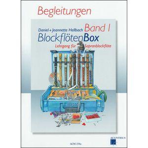 BlockflötenBox 1 Begleitungen Acanthus Music