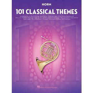 101 Classical Themes Horn Hal Leonard