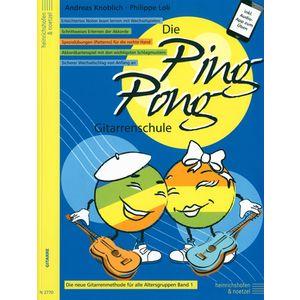 Die Ping Pong Gitarrenschule Heinrichshofen's Verlag