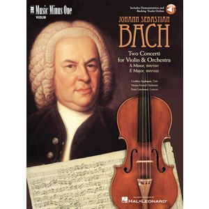 Bach Violin Concerto No.1 Music Minus One