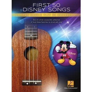 First 50 Disney Songs Ukulele Hal Leonard