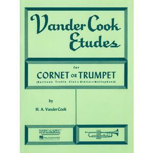 Vandercook EtudesTrumpet Rubank Publications
