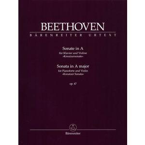 Beethoven Sonate in A Violin Bärenreiter