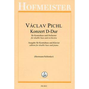 Pichl Konzert D-Dur Kontrabass Friedrich Hofmeister Verlag
