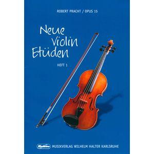 Pracht Neue Violin Etüden 1 Musikverlag Wilhelm Halter
