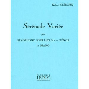 Sérénade Variée Tenor Sax Alphonse Leduc