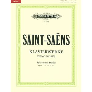 Saint-Saens Klavierwerke Edition Peters