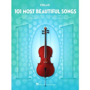 101 Beautiful Songs Cello Hal Leonard