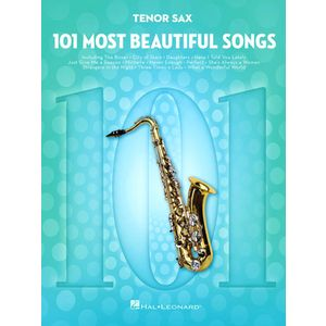 101 Beautiful Songs T-Sax Hal Leonard