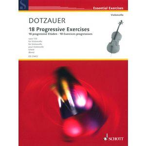 18 Dotzauer Progressive Cello Schott