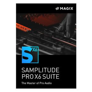 Samplitude Pro X6 Suite UG EDU Magix