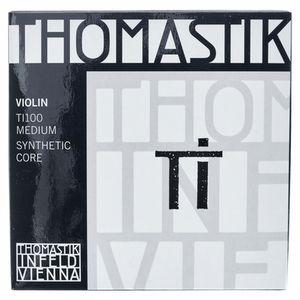 TI100 Violin Strings Set 4/4 Thomastik