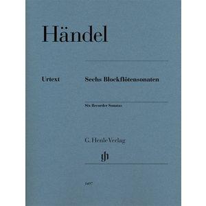 Händel Blockflötensonaten Henle Verlag