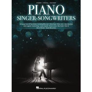 Piano Singer-Songwriters Hal Leonard