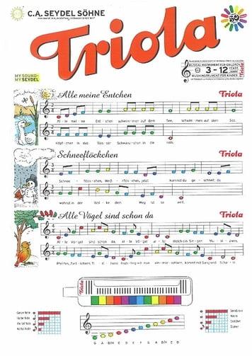 Seydel Söhne TRIOLA Liederbuch Band 1 NEU C.A