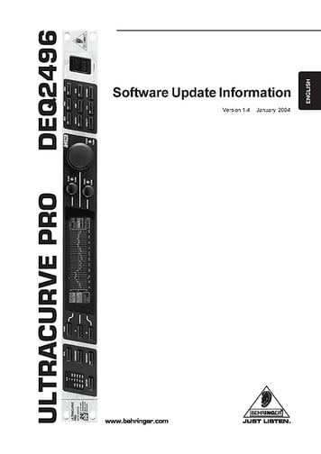 Software Update Info