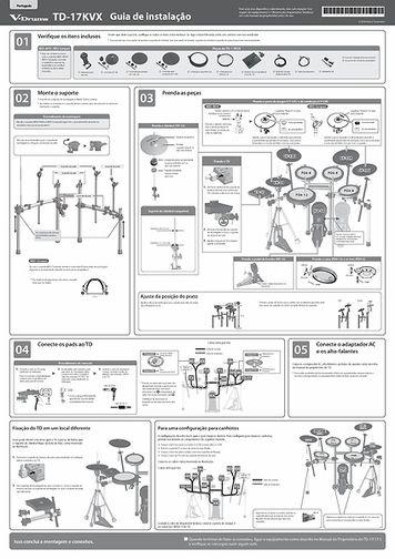 [Português] TD-17KVX Setup Guide
