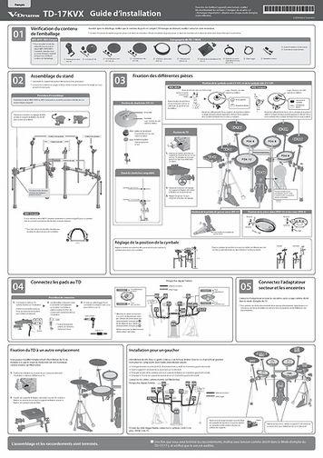 [Français] TD-17KVX Setup Guide