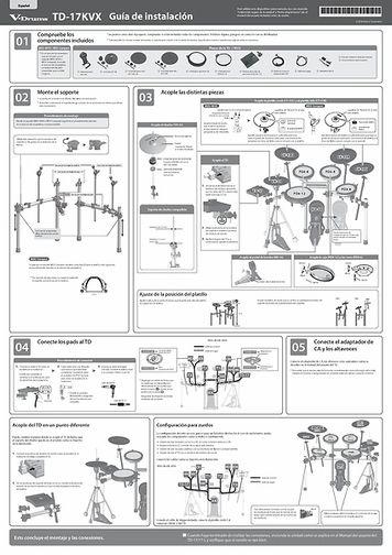 [Español] TD-17KVX Setup Guide