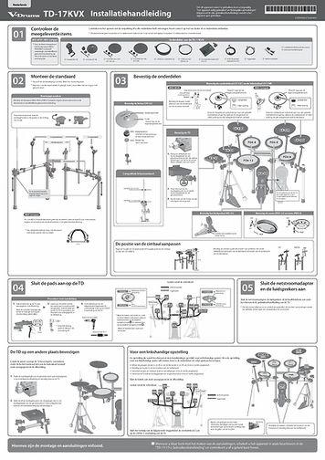 [Nederlands] TD-17KVX Setup Guide